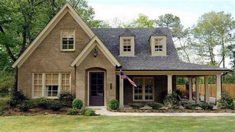 country cottage house plans with porches small country