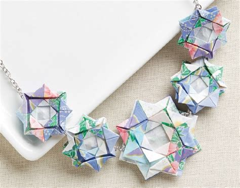 making origami jewelry try colorful affordable origami paper jewelry making