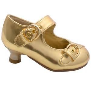 toddler gold dress shoes gold patent buckle kitten heel dress shoes toddler 5 10