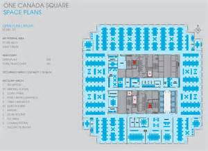 one canada square floor plans canary wharf