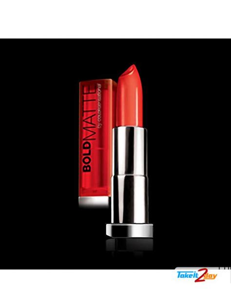 Maybelline Bold Matte Mat 4 by Maybelline New York Bold Matte By Color Sensational Lip