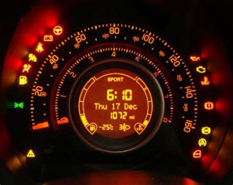 fiat 500 warning lights fiat 500 pink cake ideas and designs