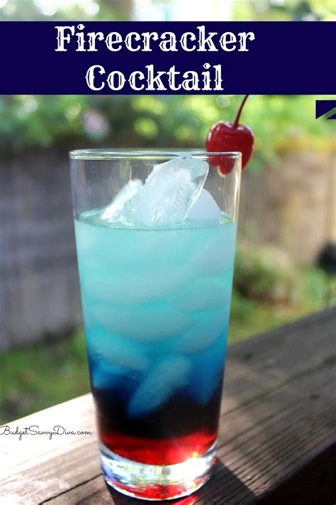 cocktail drinks recipe easy firecracker cocktail recipe budget savvy diva