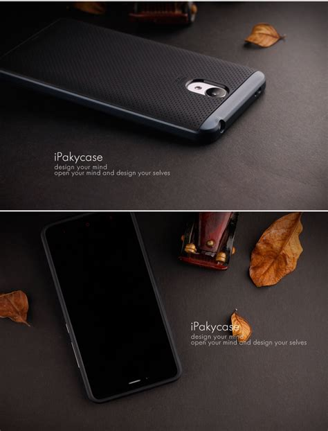 Xiaomi Redmi Note 4 Ipaky Neo Hybrid Grey Free Tempered Glass xiaomi redmi note 2 3 4 4x pro original ipaky neo hybrid