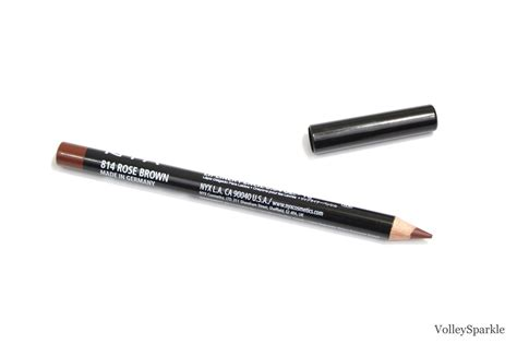Nyx Brown Liner nyx brown slim lip pencil review swatches