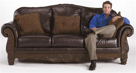 north shore sofa set north shore dark brown living room set from ashley 22603