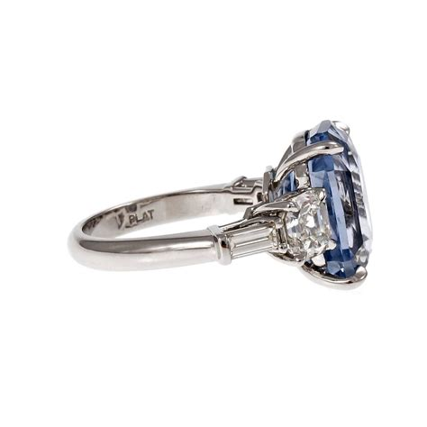suchy light blue sapphire platinum