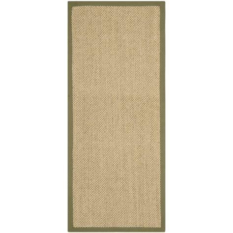 beige green safavieh natural fiber beige green 2 ft 6 in x 6 ft