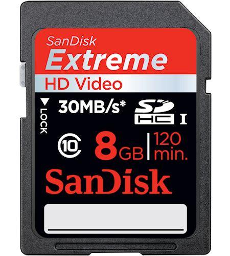 Memory Card Sandisk Ultra 8gb Class 10 digitalsonline sandisk 8gb sdhc card class 10