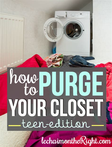 how to purge your closet how to purge your closet teen edition
