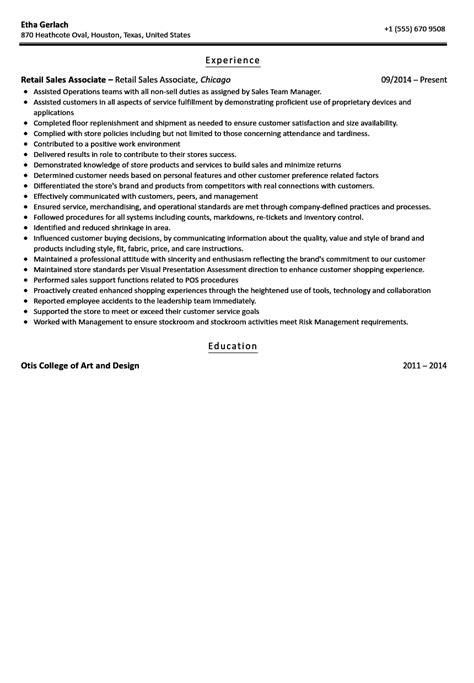striking sample resume retail sales manager samples qualifications