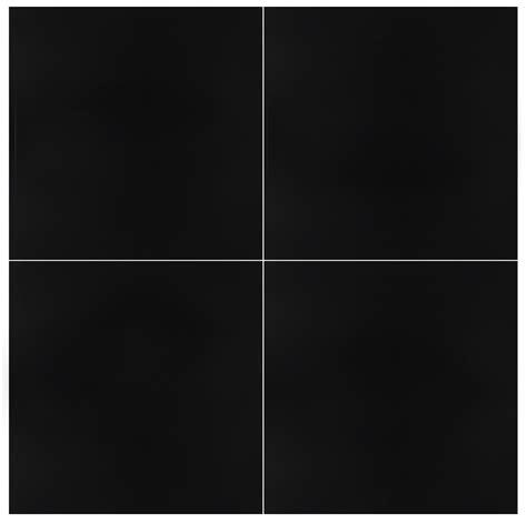 Black Matte 24x24 Tile