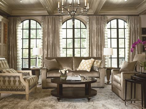 Thomasville Living Room - modern spirit meets timeless design in the clean lines of