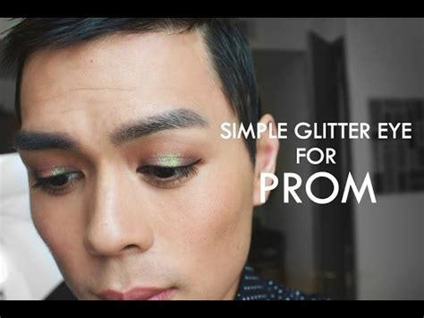 Jordana Eye Makeup Remover prom makeup simple glitter eye glitterelixirs makeup