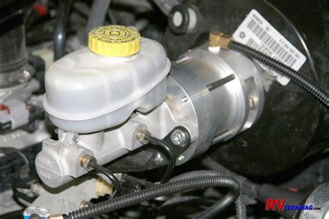 m g tow brake installation