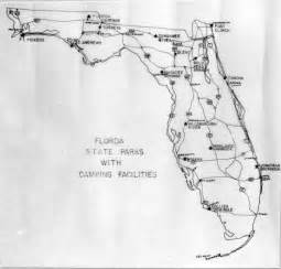 florida memory map of florida state parks