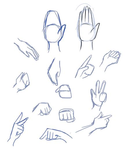 anime hand how to draw anime hands and fingers