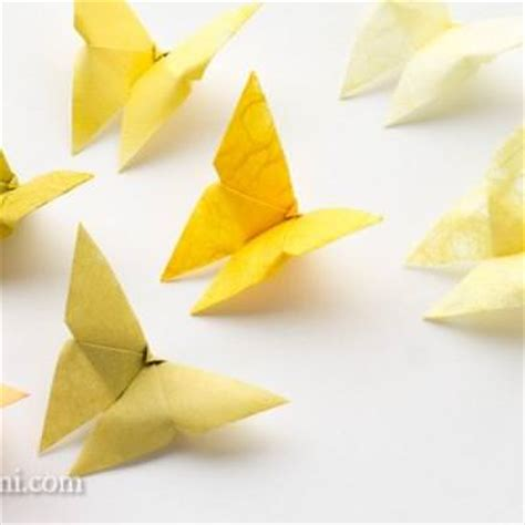 Origami Simple Butterfly - origami tip junkie