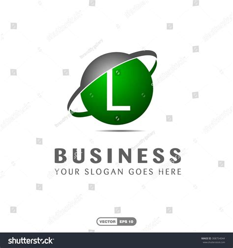 Green L Company by Abstract L Letter Vector Logo Icon Stock Vector 308754044