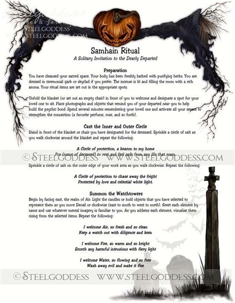 deeper into the underworld ancestors magical rites books samhain ritual book of shadows spell pages by steelgoddess