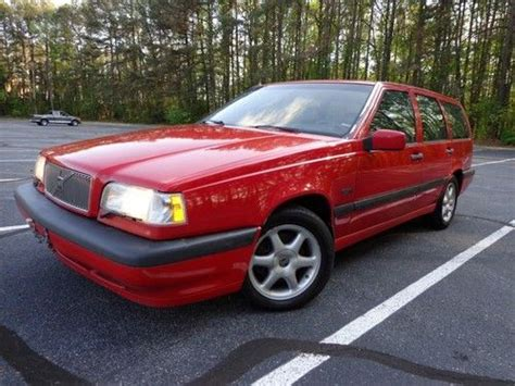 sell used 1995 volvo 850 wagon glt 5spd leather sunroof