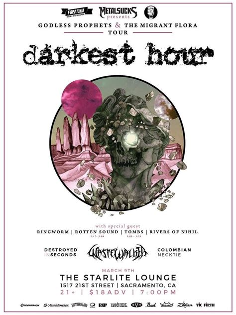 darkest hour sacramento ringworm s concert history concert archives