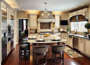 Eat In Kitchen Island Designs by What S Cookin In The Kitchen Decorating Den Interiors