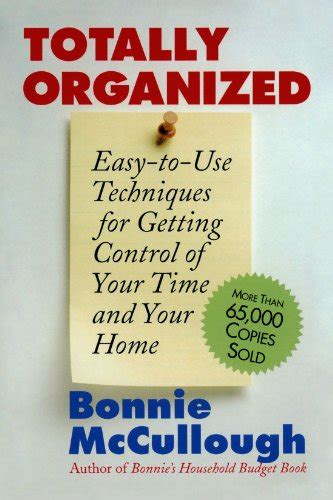 bonnie s household organizer the essential guide for getting control of your home ebook bonnie runyan mccullough author profile news books and