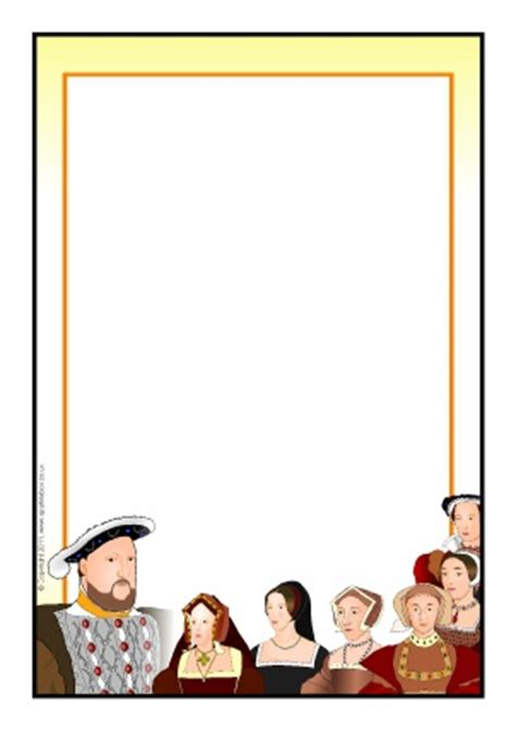 tudor writing paper the tudors primary teaching resources and printables