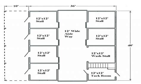 horse barn floor plans popular horse barn designs horse barn layouts floor plans