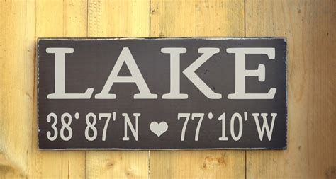 lake house wall art lake house decor wall art latitude from soflco com house goals