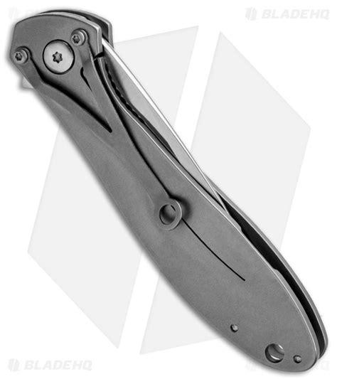 crkt eros ss crkt ken large eros stainless steel frame lock knife