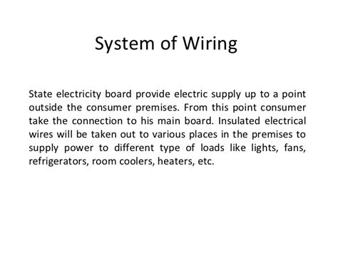 magnificent different types of wiring methods pictures