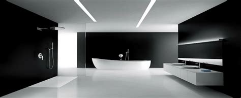 Modern Black And White Bathroom by Modern Black And White Bathroom Maison Valentina