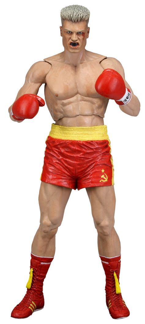 rocky 4 figures rocky 40th anniversary 7 quot scale figure series 2