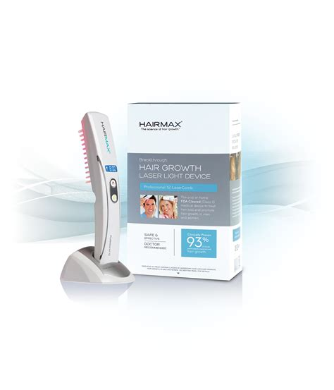 Hairmax Shedding by Hairmax Lasercomb 174 Professional 12 Fda Approved The