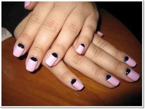 moon manicure instructions inspiring nail ideas