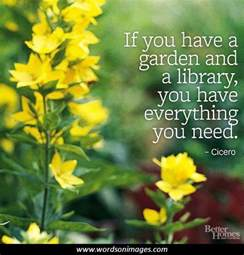 Garden Of Quotes Gardening Quotes And Sayings Quotesgram