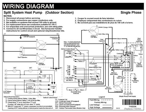 goodman defrost board wiring diagram heat schematics