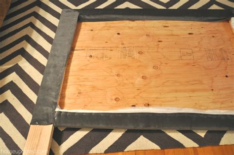 make padded headboard how to make a fabric headboard casual cottage