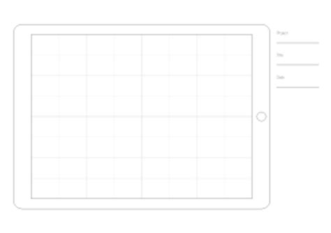 ipad grid template ios thomasguenzel