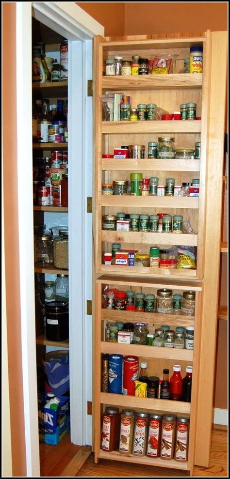 The Door Pantry Rack Home Depot by Pantry Door Storage Racks Pantry Home Design Ideas