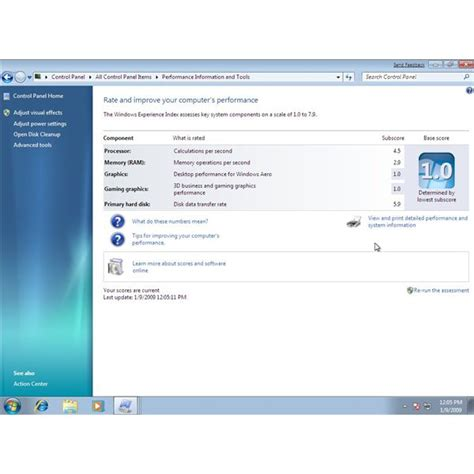 pc bench mark windows 7 benchmark tools test your computer speed