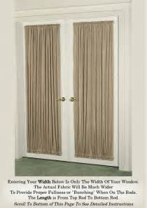 Curtain Tension Rods Door Curtains Curtains For Doors