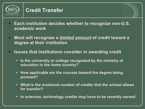 Nyu Mba Transfer Credits by Wes Library Presentation