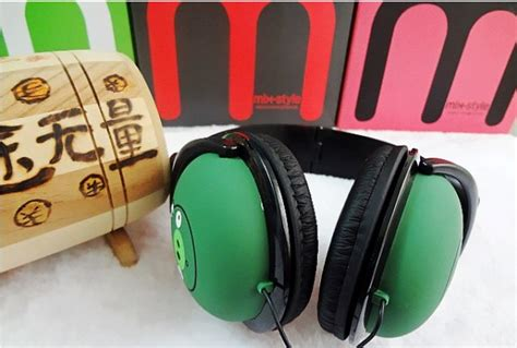 Headphone Mix Style Angry Bird angry birds stereo ear headphone headset mix style 3