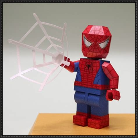 How To Make A Paper Lego - lego spider free papercraft