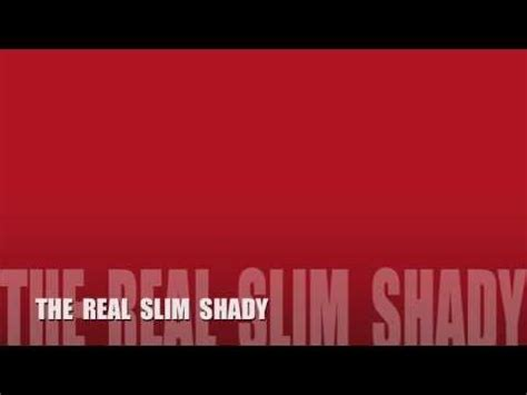 eminem the real slim shady edited youtube the real slim shady by eminem clean youtube