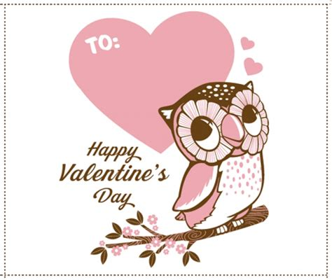 printable owl valentine cards owl valentine s day cards to print designcorner