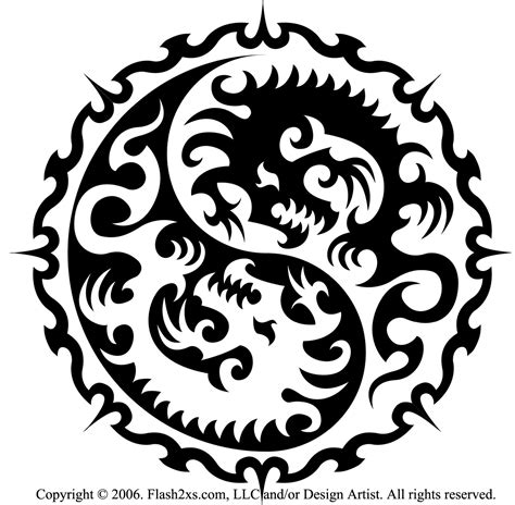 tribal yin yang tattoos designs tattoofinder announces tribal tattoos as most popular